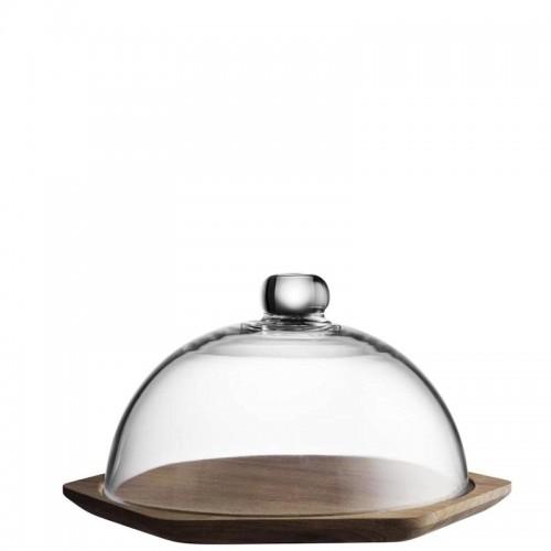 TYPHOON Modern Kitchen deska do serwowania z kloszem