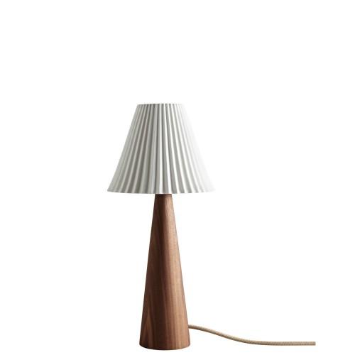 Original BTC Cecil Walnut Lampa stołowa