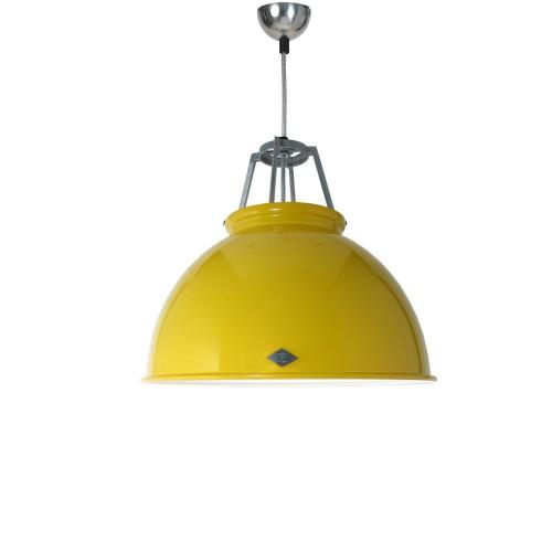 Original BTC Titan Size 3 Pendant White Interior lampa wisząca