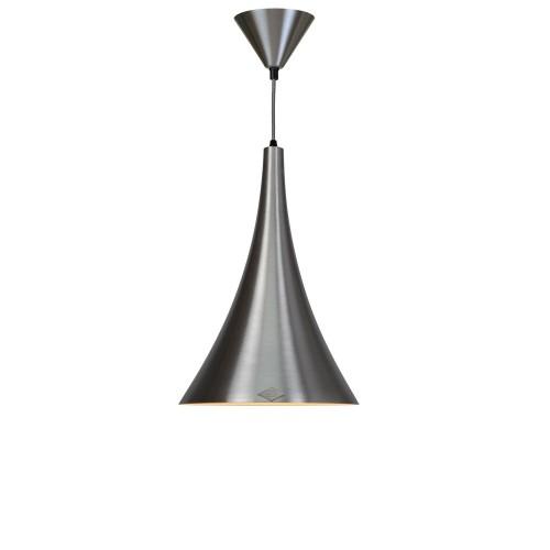Original BTC Trump Brushed Aluminium Pendant Lampa wisząca