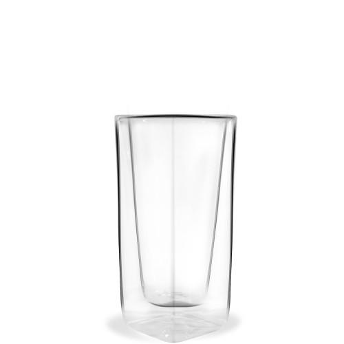 Vialli Design Vita szklanka wysoka z podwójną ścianką z łyżeczką coctailową