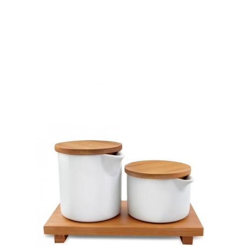 Vialli Design Vilagio cukiernica i mlecznik