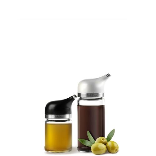 Vialli Design Livio Zestaw 2 dozowników do oliwy i octu