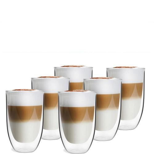 Vialli Design Amo Zestaw 6 szklanek termicznych wysokich z podwójną ścianką