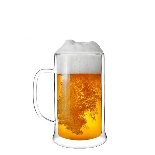 Vialli Design Amo kufel do piwa z podwójną ścianką