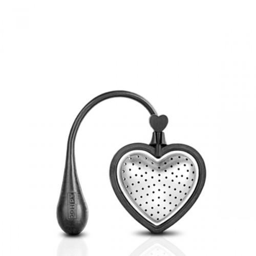 AdHoc Heart duża zaparzaczka do herbaty w kształcie serca