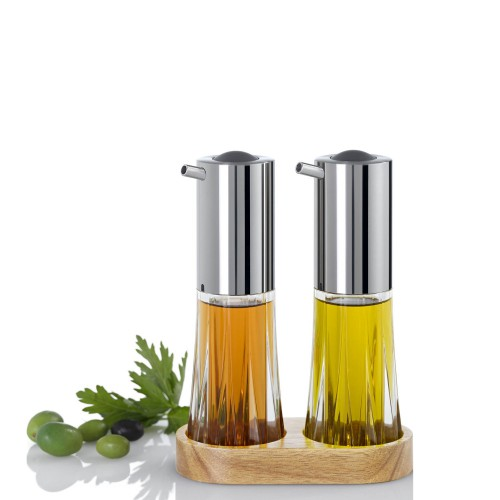 AdHoc Menage Crystal zestaw dozowników do oliwy i octu