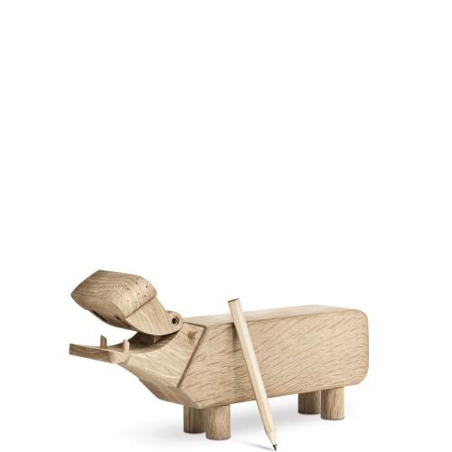 Kay Bojesen Hipopotam Dekoracja drewniana