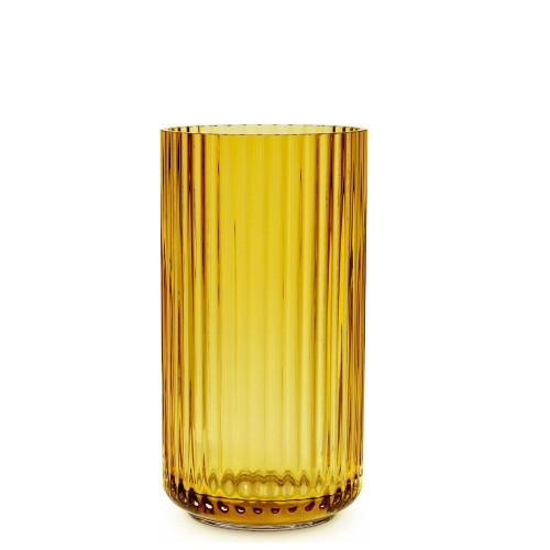 LYNGBY Blue Wazon szklany