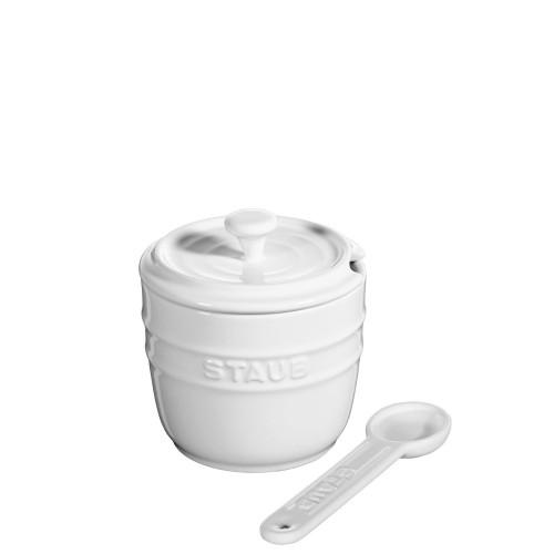 STAUB Staub pojemnik na sól z łyżeczką