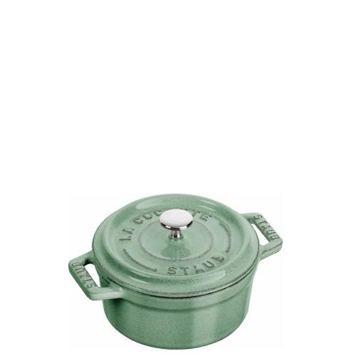 STAUB Cocotte mini garnek żeliwny okrągły