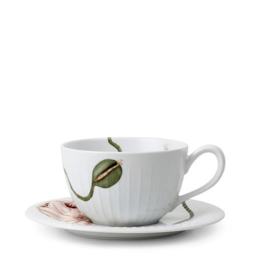 KAHLER DESIGN Hammershoi Poppy Filiżanka do herbaty ze spodkiem
