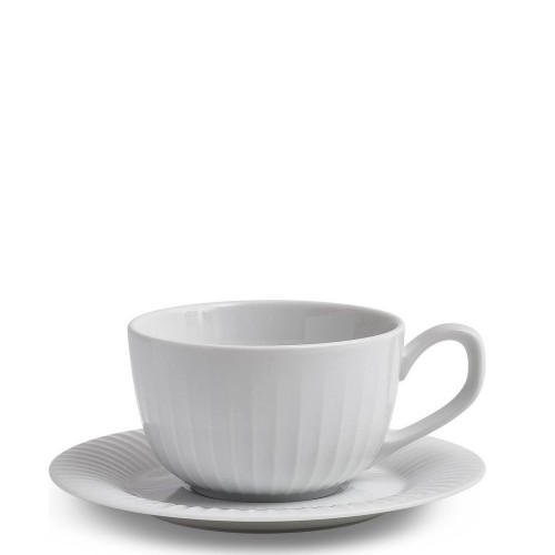 KAHLER DESIGN Hammershoi Filiżanka do kawy ze spodkiem