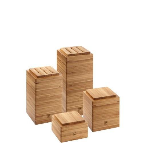 Zwilling Storage Zestaw 4 pojemników bambusowych