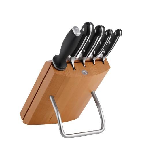 Zwilling Zwilling Pro zestaw 4 noży w bloku i stalka