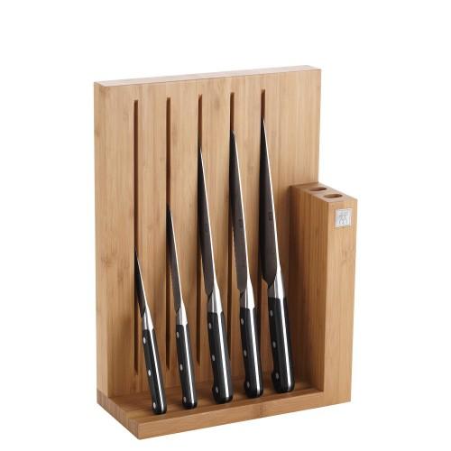 Zwilling Zwilling Pro zestaw 5 noży w bloku magnetycznym