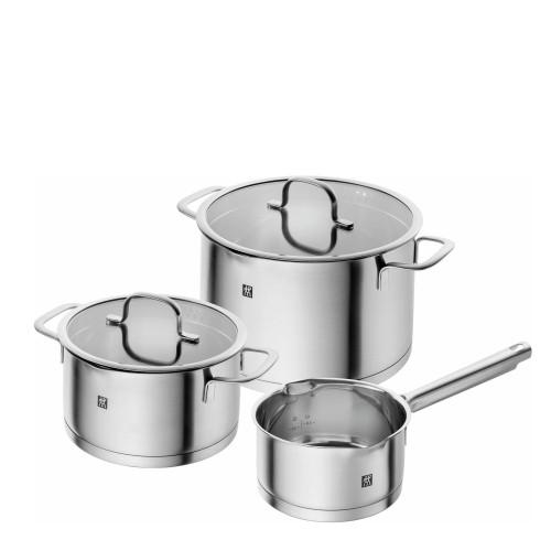 Zwilling True Flow zestaw 3 naczyń kuchennych