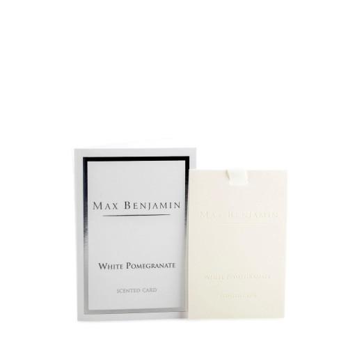 Max Benjamin White Pomegranate karta zapachowa