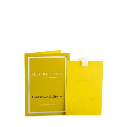 Max Benjamin Lemongrass Ginger karta zapachowa