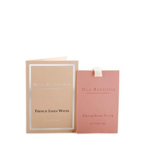 Max Benjamin French Linen Water karta zapachowa