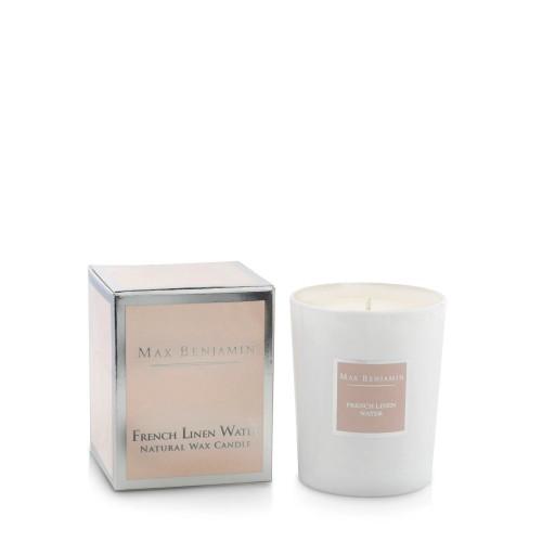 Max Benjamin French Linen Water Świeca zapachowa