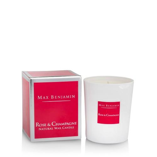 Max Benjamin Rose Champagne Świeca zapachowa