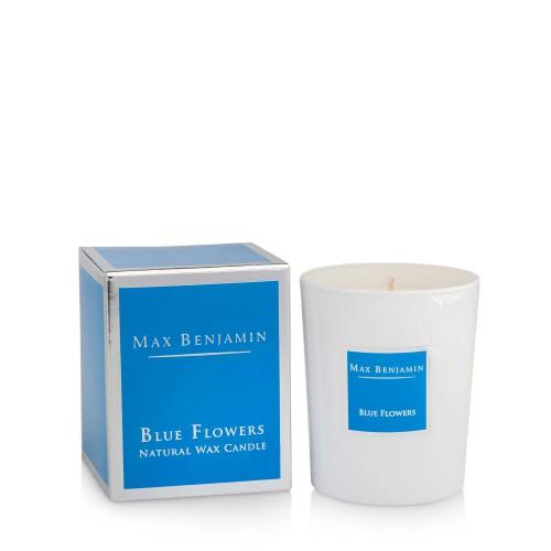 Max Benjamin Blue Flowers Świeca zapachowa