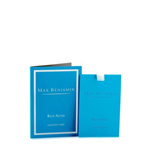 Max Benjamin Blue Azure karta zapachowa