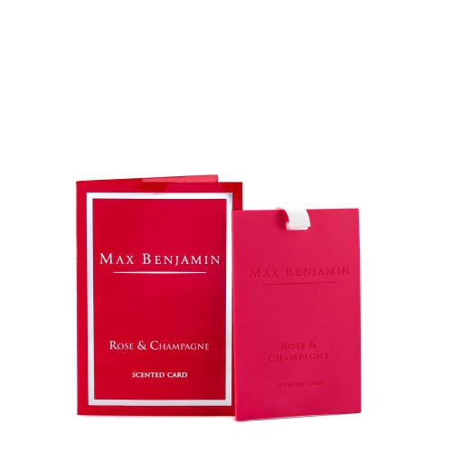 Max Benjamin Rose Champagne karta zapachowa