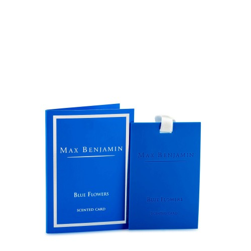 Max Benjamin Blue Flowers karta zapachowa