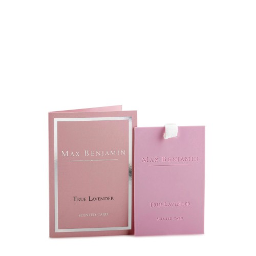 Max Benjamin True Lavender karta zapachowa