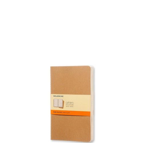 Moleskine Cahier Journals Zestaw 3 zeszytów gładkich