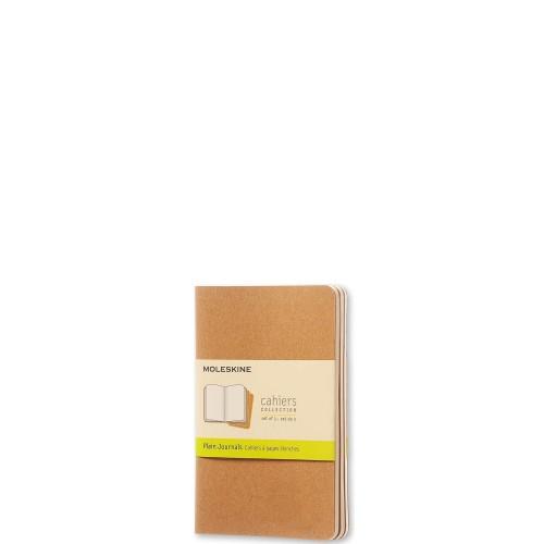 Moleskine Cahier Journals Zestaw 3 zeszytów w kratkę