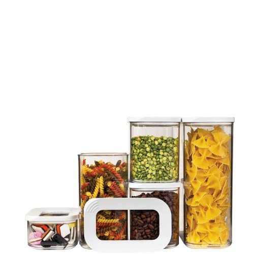 Mepal Modula Zestaw 5 pojemników kuchennych