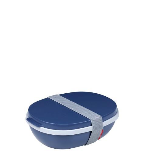 Mepal Ellipse Duo Lunchbox, Nordic Denim