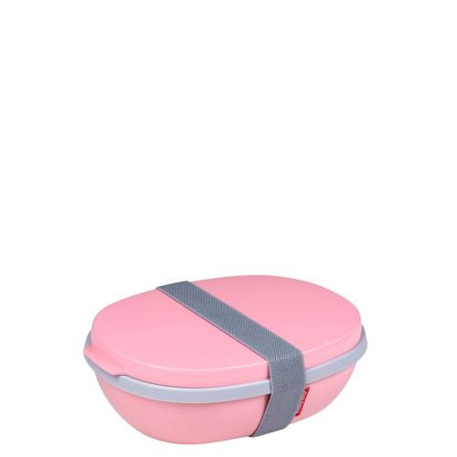 Mepal Ellipse Duo Lunchbox, Nordic Pink