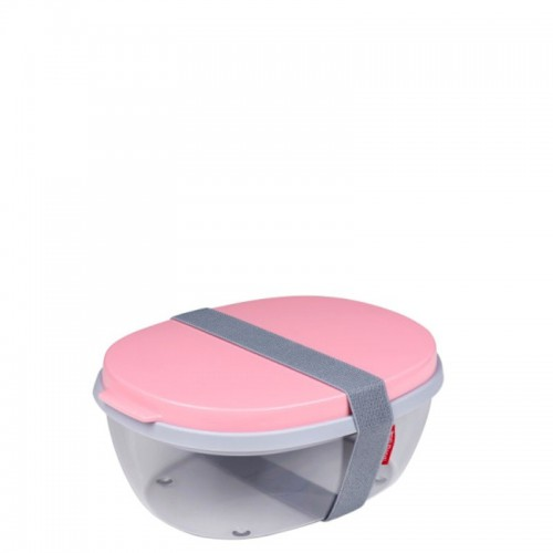 Mepal Ellipse Saladbox pojemnik na sałatki, Nordic Pink