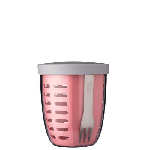 Mepal Ellipse Fruit & veggie pot Pojemnik na owoce i warzywa, Nordic Pink