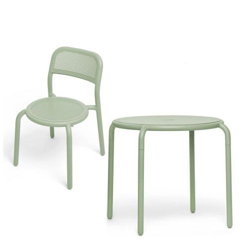 fatboy Toni Zestaw ogrodowy, stół i dwa krzesła