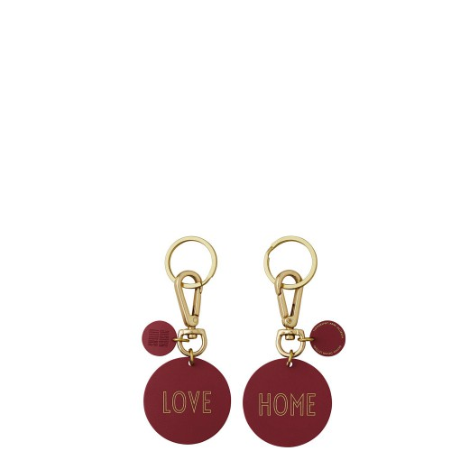DESIGN LETTERS LOVE & HOME Brelok do kluczy