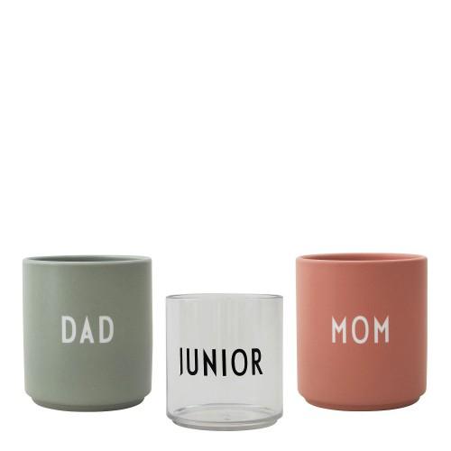 DESIGN LETTERS Family Gift Box Kubki, 3 szt.