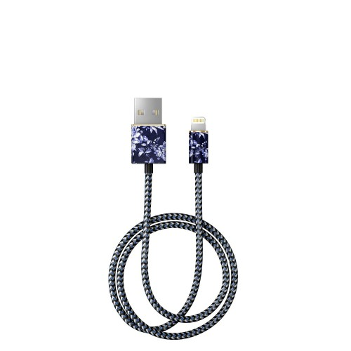 iDeal of Sweden Sailor Blue Bloom Kabel lightning 1 m