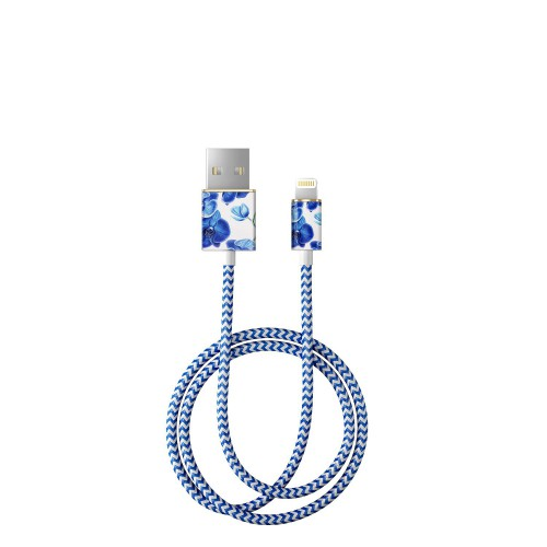 iDeal of Sweden Baby Blue Orchid Kabel lightning 1 m