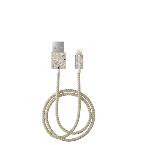 iDeal of Sweden Greige Terazzo Kabel lightning 1 m