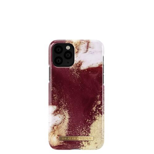 iDeal of Sweden Golden Burgundy Marble Etui ochronne do iPhone 11 Pro