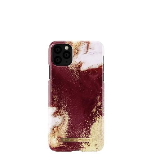 iDeal of Sweden Golden Burgundy Marble Etui ochronne do iPhone 11 Pro Max