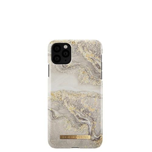 iDeal of Sweden Sparkle Greige Marble Etui ochronne do iPhone 11 Pro Max