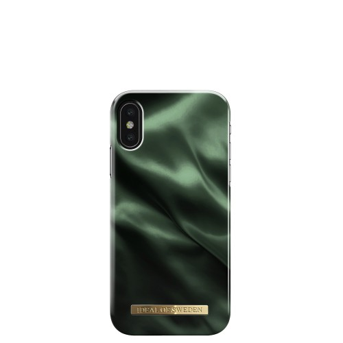 iDeal of Sweden Emerald Satin Etui ochronne do iPhone X lub XS