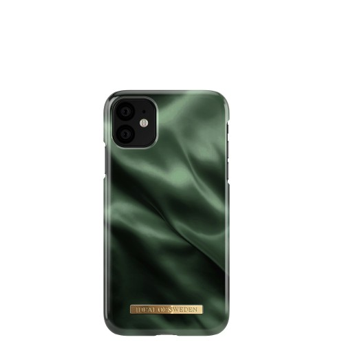 iDeal of Sweden Emerald Satin Etui ochronne do iPhone 11