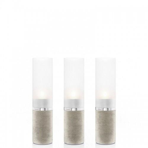 Blomus Faro zestaw 3 świeczników